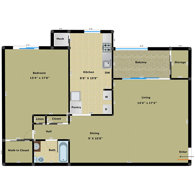 Astonishing Apartments In Henrico Va Cabin Creek Has 1 2 3 Br With Interior Design Ideas Pimpapslepicentreinfo