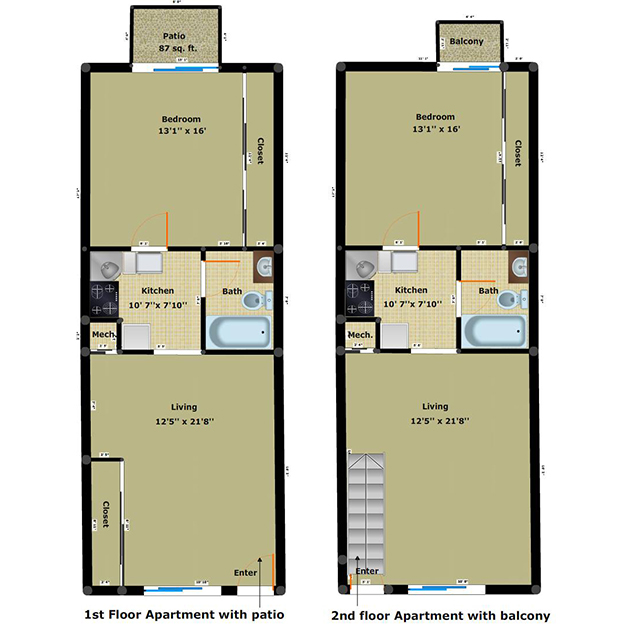 York Creek Apartments: Cabin Creek Has 1, 2 & 3 BR